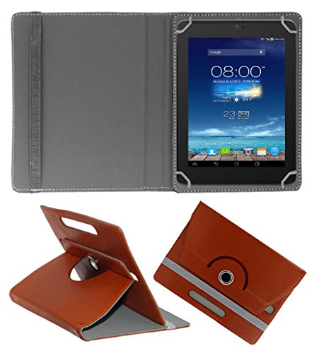 Acm Rotating 360° Leather Flip Case For Digiflip Pro Xt801 Tablet Cover Stand Brown  available at amazon for Rs.159