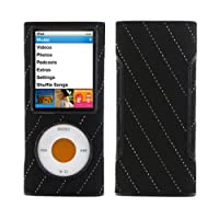 Speck Fitted Case for iPod Nano 4G - Black Pinstripe