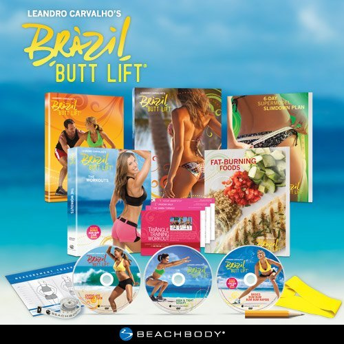 Brazil Butt Lift: The Supermodels' Secret to a Perfect Butt Workout DVD Programme (English and Spanish)