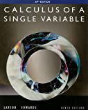 img - for Calculus of a Single Variable, 9th Edition book / textbook / text book