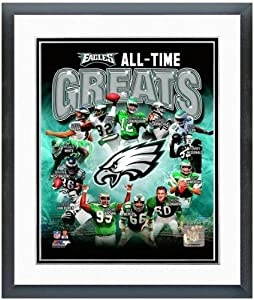 Philadelphia Eagles All Time Greats Photo Matted & Framed 12.5 x 15.5 by NFL