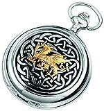 Woodford Full Hunter Welsh Dragon Pocket Watch