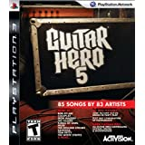 Guitar Hero 5 Stand Alone Software (Bilingual game-play) - PlayStation 3 Standard Editionby Activision