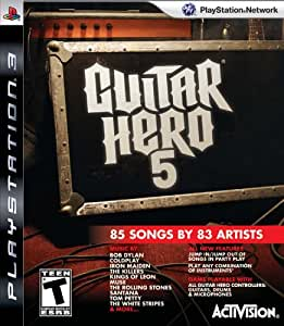 Guitar Hero 5 Stand Alone Software (Bilingual game-play) - PlayStation 3 Standard Edition