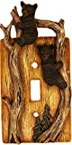 Wildlife Creations 4134 Bear Switch Plate Cover