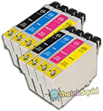 8 non-oem T0711 T0712 T0713 T0714 (T0715) Epson Cheetah/Monkey Ink Cartridges#Epson Stylus SX515W