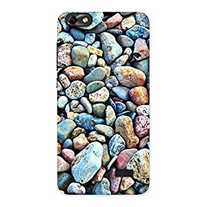 Gorgeous Pebbles Multicolor Back Case Cover for Honor 4C