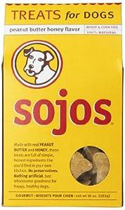 Sojos Dog Treats, Peanut Butter Honey