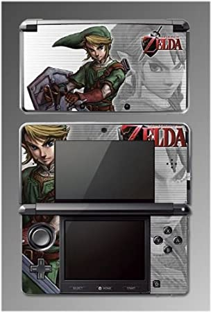 Legend of Zelda Ocarina Skyward Sword Game Vinyl Decal Cover Skin Protector #2 for Nintendo 3DS