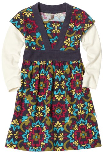 Tea Collection Girls 2-6x Talavera Wrap Dress