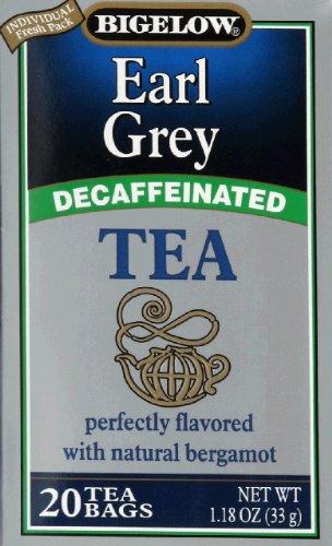 Tea Decaffeinated Earl Grey 20 Bags (Pack Of 2)