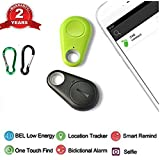 Spy GPS Tracker Smart Finder Bluetooth Locator Wireless Anti Lost Alarm Sensor For Key Wallet Car Kids Pets Dog Cat Child Bag Phone Located Selfie Shutter pack of 2 (Tamaño: GPS)