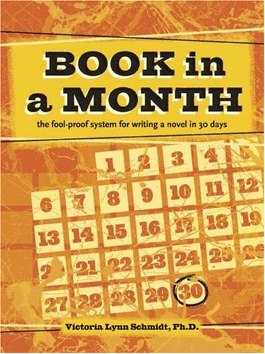 Book in a Month, by Victoria Lynn Schmidt