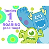 Disney Monsters, Inc. 1st Birthday Party Invitations 8 Pack