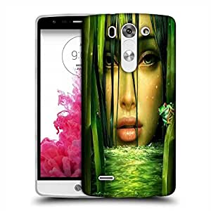 Snoogg woman in the jungle 2844 Designer Protective Back Case Cover For LG G3 BEAT