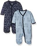 Care Baby - Jungen Schlafstrampler im 2er Pack