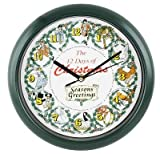 Twelve Days of Christmas clock, plays 12 different christmas carols to really give the xmas spirit