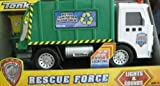 Tonka Lights & Sound - Rescue Force - Metro Sanitation Department Truck - Garbage Truck