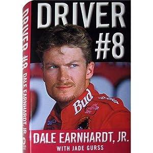 Dale Earnhardt Jr Autographed (Driver #8) Book by PalmBeachAutographs.com