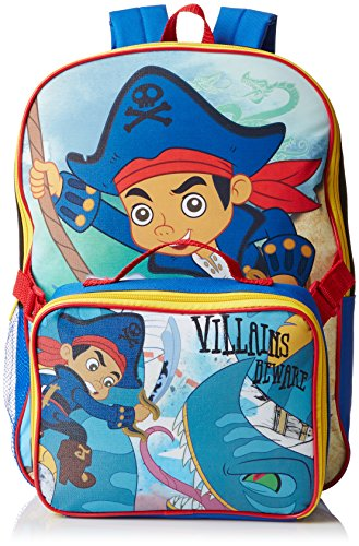 Jake The Pirate Backpack with Lunch Kit