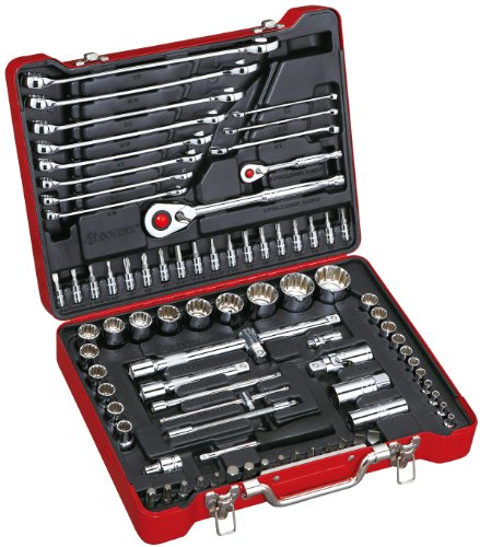 Bovidix 380108502 Spline Socket  and  Wrench Set with 1/2-Inch  Drive, 84-Piece