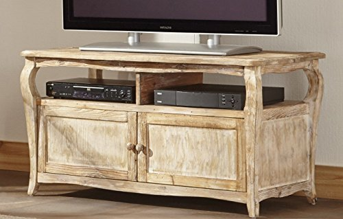 Alaterre Rustic Reclaimed TV/Entertainment Stand, Driftwood Brown (Entertainment Center Rustic compare prices)