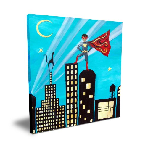 "Cici Art Factory Superhero, 16""x 16"""