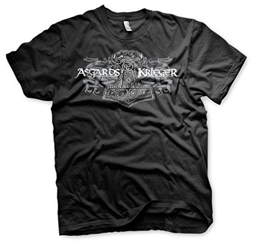 Wotan Textil -  T-shirt - Basic - Uomo nero XXX-Large