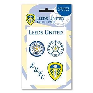 Tattoo pack leeds united football club team lufc crest for Leeds united tattoos
