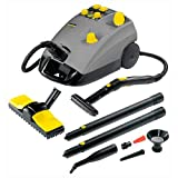 Karcher DE 4002 Commercial Steam Cleaner 2.4 & 2.2 Litre Tank 2250w 240v + FREE Cloths Worth £13.95