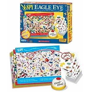 儿童鹰眼玩具卡片