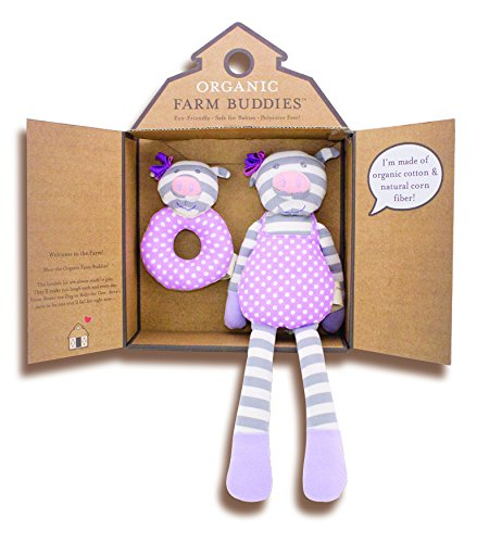 Organic Farm Buddies, Penny the Piggy Gift Set