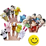 SODIAL(R) Story Time Finger Puppets -...
