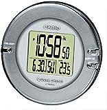 Casio - DQD-110B-8AEF - Réveil - Radio Piloté - Quartz Digitale - Thermomètre - Eclairage LED