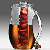 Prodyne Fruit Infusion 93-Ounce Natural Fruit Flavor Pitcher