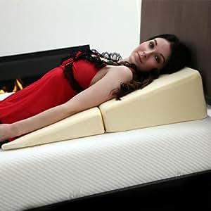 Amazon Com Remedy Natural Pedic Folding Wedge Memory Foam