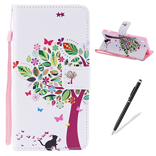 feeltech-sony-xa-case-pu-leather-flip-cover-with-colourful-painting-pattern-folio-wallet-case-magnet