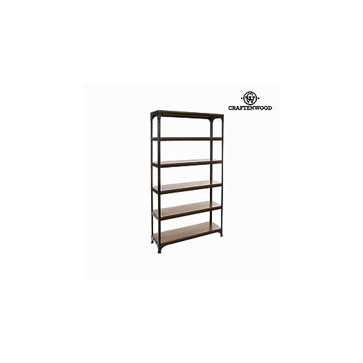 Libreria legno e metallo - Franklin Collezione by Craften Wood