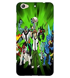 ColourCraft Cartoons Design Back Case Cover for LeEco Le 1S