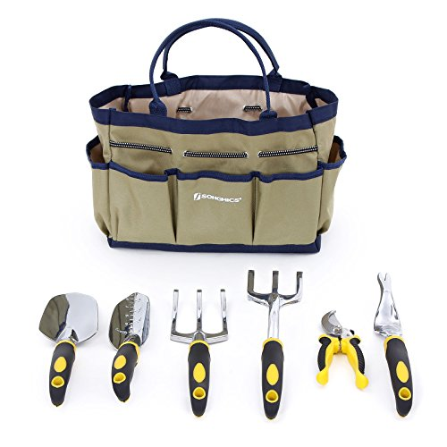 songmics-7-piece-garden-tool-set-includes-6-tools-w-heavy-duty-cast-aluminum-heads-ergonomic-handles