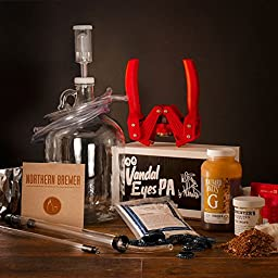 Wil Wheaton Small Batch Beer Making Starter Kit with Vandaleyes PA (IPA Recipe)