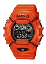 Casio Baby-G Damen-Armbanduhr orange Digital Quarz BG-1006SA-4BER