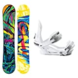 GNU B-Street BTX Ladies Snowboard and Binding Package 2014 by Gnu