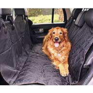 BarksBar Pet Car Seat Cover With Seat Anchors for Cars, Trucks, Suv's and Vehicles | WaterProof…