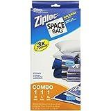 Space Bag #BRS-6239 Vacuum Seal Clear Storage Bags, Set of 3 (Medium, Large, Extra Large)