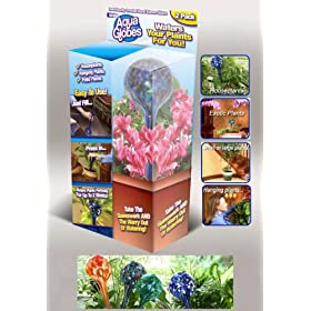 Aqua Globes Watering Bulbs 2-pk.