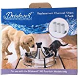 PetSafe Drinkwell 360 Pet Fountain Replacement Carbon Filters, 3-Pack