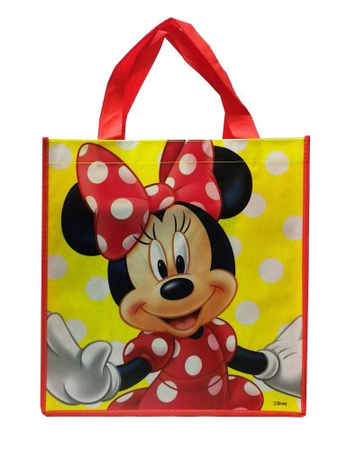 Disney Minnie Mouse Large Reusable Non-Woven Bag - 1