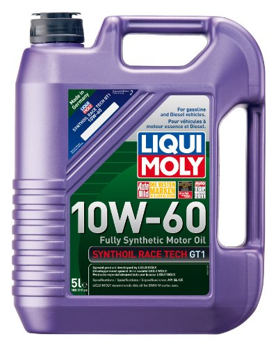 Liqui Moly 2024 Synthoil Race Tech GT1 10W-60 Motor Oil - 5 Liter Jug (Motor Oil Liqui Moly compare prices)