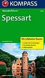 WF 5236 Spessart: Wanderführer mit Tourenkarten und Höhenprofilen